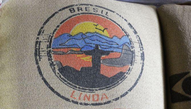 Belco, café Linda, une jolie illustration haute en couleur pour le Brésil