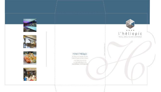 Heliopic #5, Création fichier pochette cadeau 1/2