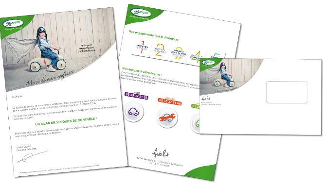 SIPA #2, Véhicules d'occasion, confiance, concept lié à l'enfant, rappel des valeurs de la marque